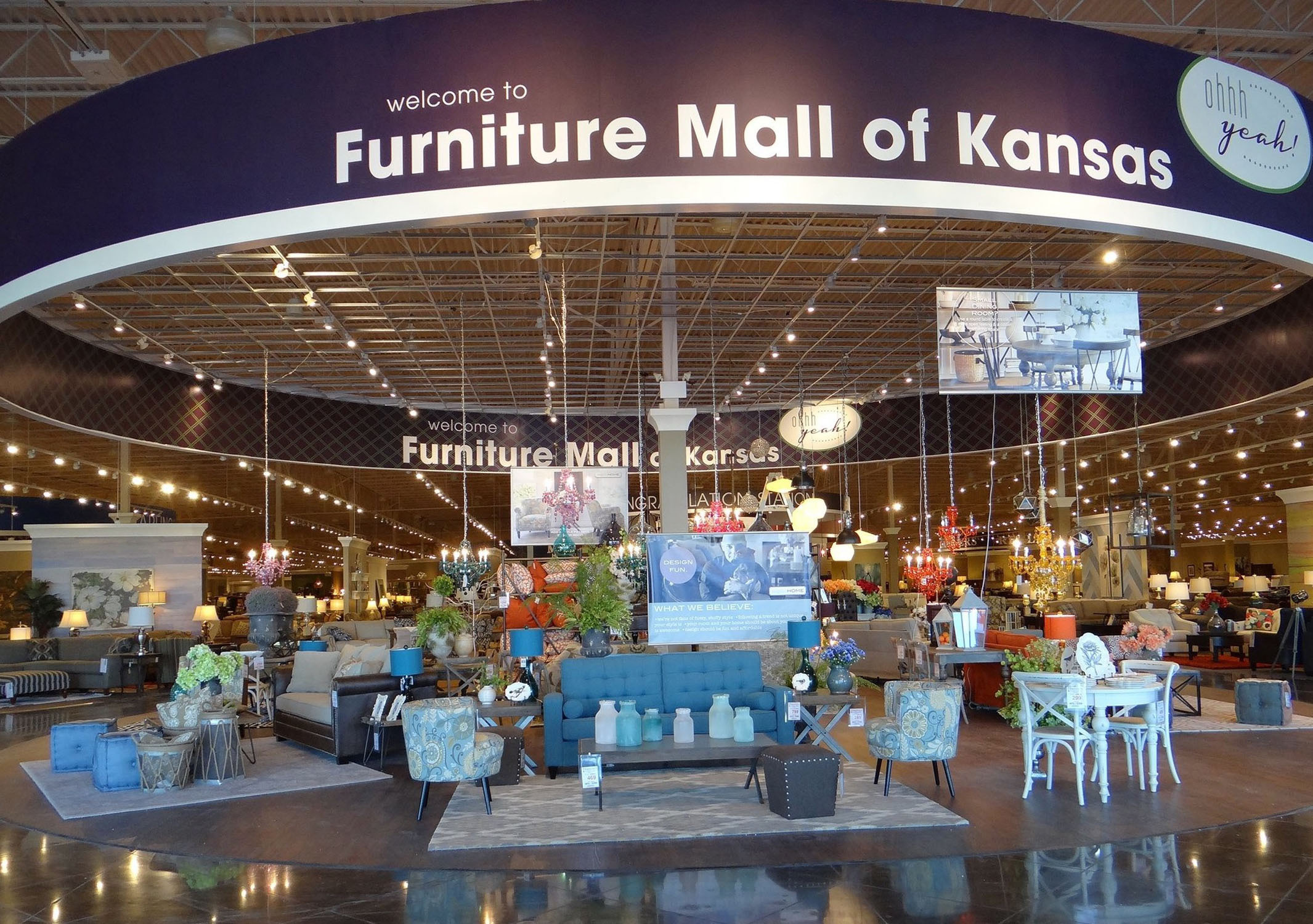 ... Discovered The Land Of Oz. It Was Thirty Three Years Later That Ben And  Eva Winter Envisioned Their Own Magic At Emporia, Kansas. U201cA Furniture  Store ...
